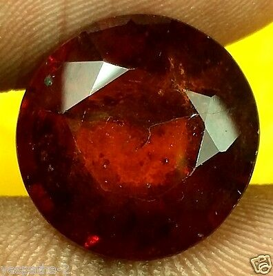 10.38 CT Hessonite 100% Natural GIE Certified Ceyloni Mines Rare Quality Gem