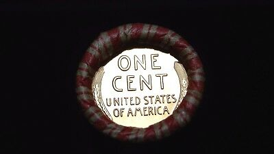 Proof Lincoln Wheat & 1958 RED  Lincoln showing on Unsearched Shotgun Roll end