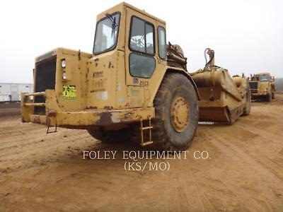 1990 CATERPILLAR 631E Scrapers