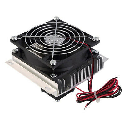 Thermoelectric Peltier Refrigeration Cooling Cooler Fan System Heatsink Kit Q5D7