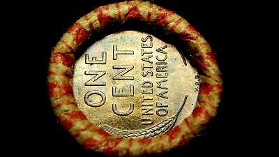 Unsearched Crimped Roll w/ UNC 1909 -S?? VDB Lincoln & 1909-? Indian showing!