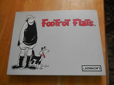 RARE  Boxed Set of 6 Footrot Flats Placemats - Murray Ball