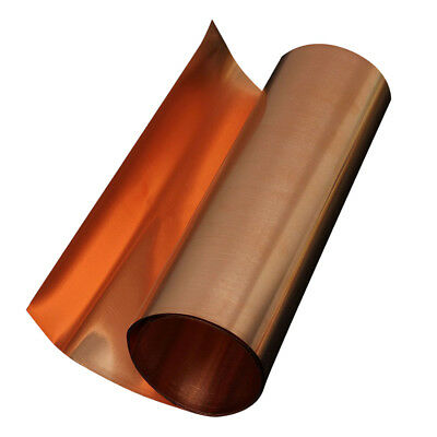 2 x 1M long Copper plate Metal plate 99.95% purity O2D5