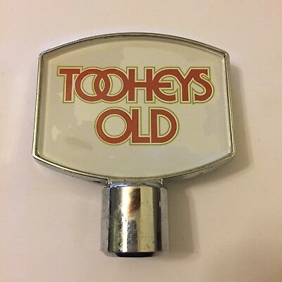 Tooheys Old Beer Tap Badge, Decal, Top Vintage Collectable