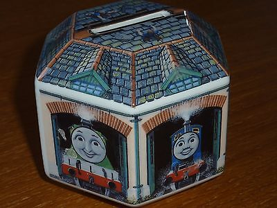 Thomas the Tank Engine and friends Wedgewood Ceramic Money Bank Collectable!!!