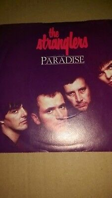 the stranglers paradise single A3387 promotion copy not for sale 1983