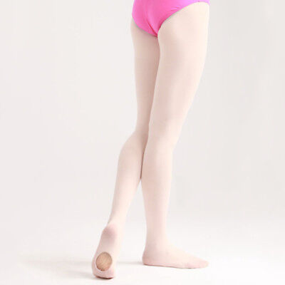 Convertible Tights Dancing Stocking Socks Ballet Pantyhose for Kids/Adults