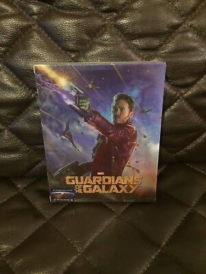 Guardians Of The Galaxy 3D+2D Blufans Ultimate Edition Blu-Ray Steelbook NEW