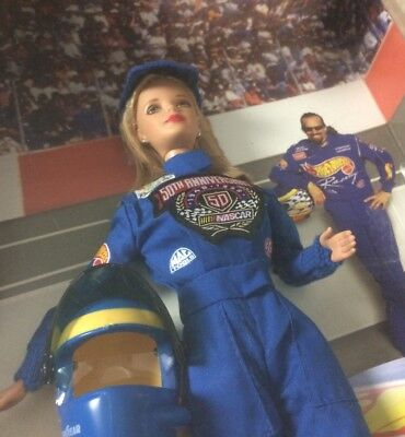Barbie 50th Anniversary NASCAR 1998 Collector Edition Mattel 90's Collectibles