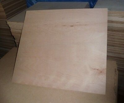10 pieces 5.5mm Top quality B/BB Grade Hardwood Plywood 23.5in x 21.25in (595mm