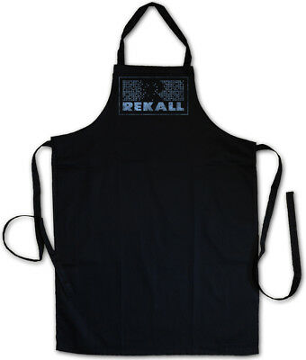 REKALL LOGO BBQ COOKING APRON Total Arnold Recall Sign Logo Company