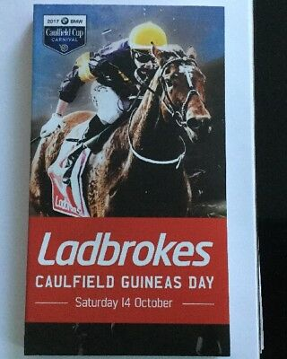 Caulfield Guineas Day Racebook (including The Everest)