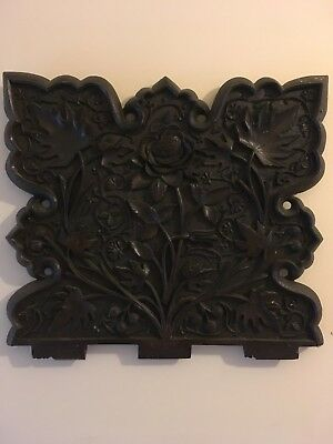Carved Wood Panel / Wall Hanging