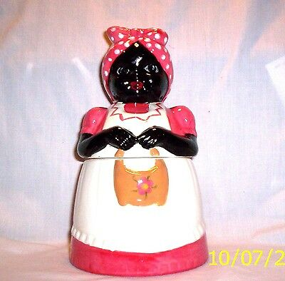 "Cooky Jar d327 73.509 Ceramic  ""Lil"" Sis Cooky Jar"