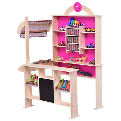 kaufladen kinder kaufmannsladen kinderkaufladen verkaufsstand marktstand eur 68 99 picclick de. Black Bedroom Furniture Sets. Home Design Ideas
