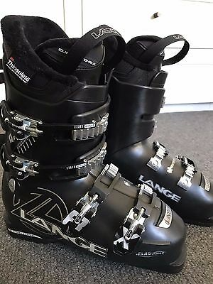 Women's Lange Ski Boots RX 80 - Black - Size 25.5 - Hardly Used
