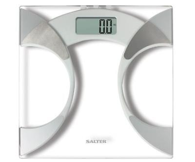 Digital Body Weight Analyser Electronic Scale Measure Fitness Transparent Glass