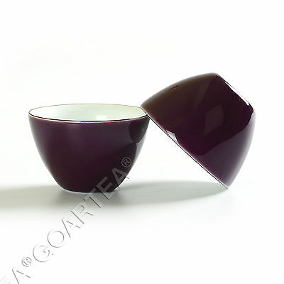 62ml Purple Fashion GongFu Tea Porcelain Ceramic JingDe Chinese teacup tea Cup