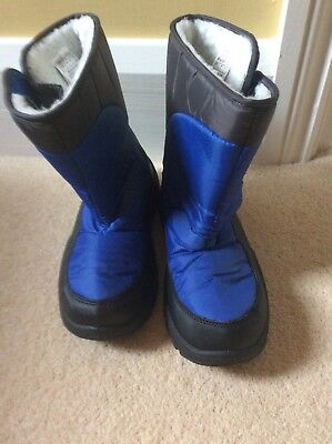 boys size 4 snow boots