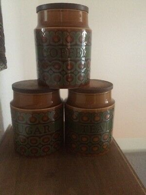 Hornsea Pottery Bronte Coffee The And Sugar Set