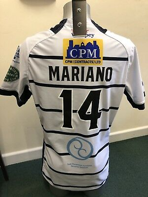 Match Worn Featherstone Rovers 2017 Summer Bash Playing Shirt (Frankie Mariano)