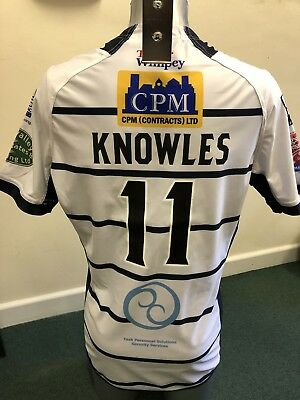 Match Worn Featherstone Rovers 2017 Summer Bash Playing Shirt (Michael Knowles)
