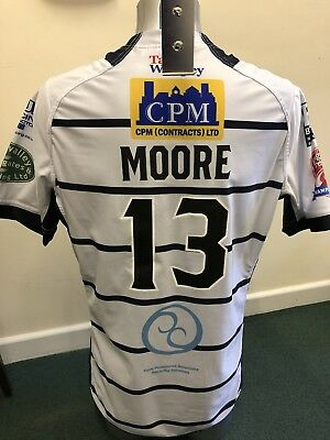Match Worn Featherstone Rovers 2017 Summer Bash Playing Shirt (Richard Moore)