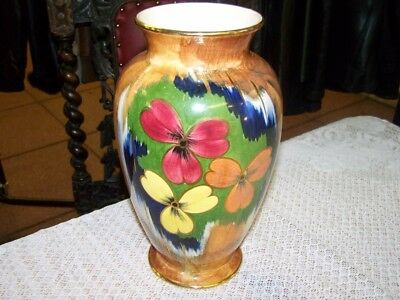 "Oldcourt Ware Vase, height  11"" approx"