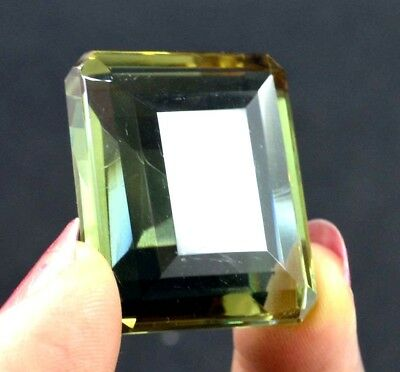 IGL Certified 104.75 Ct Charming Emerald Cut Color Changing Alexandrite Gems