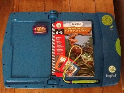 Leap Frog LeapPad Learning System Console Bundle with 4 Books and Cartridge