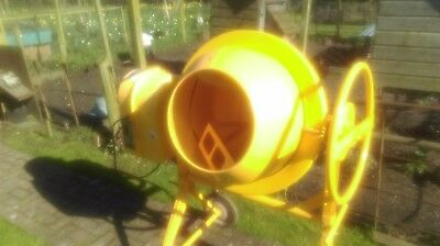 cement mixer 110V Clarke brand with long extension cable, very little use