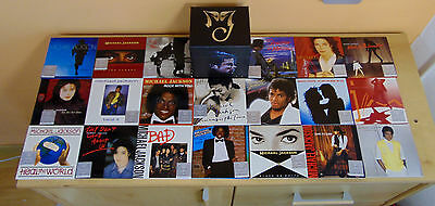 Michael Jackson (Visionary) 20 Cd/dvd Singles Box Set *****limited Edition*****