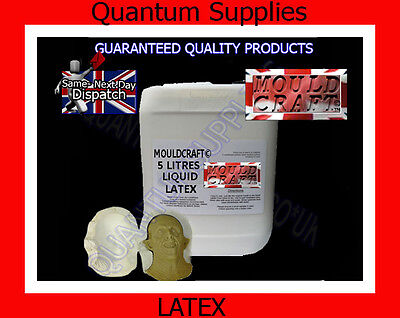 SKIN SAFE Liquid Latex Mould Moulding / Dipping Rubber 5 Litres halloween scars