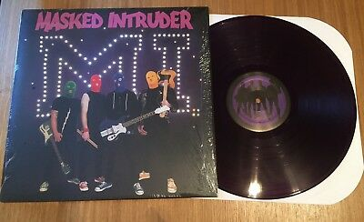 Masked Intruder - M.I. - Purple Vinyl - Fat Wreck Chords - NOFX, Lagwagon