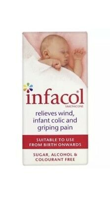 ⭐️WOW⭐️Infacol Colic Relief Drops ‼️50ml‼️⭐️WOW⭐️