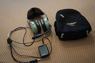 David Clark H10-13.4 headset with ANR conversion