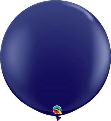 1 x Navy Blue Giant Qualatex 3ft Latex Balloons