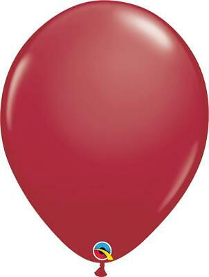 "50 x Maroon Qualatex 11"" Latex Balloons"