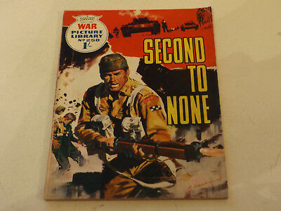 WAR PICTURE LIBRARY NO 258!,dated 1964!,GOOD for age,great 53!YEAR OLD issue.