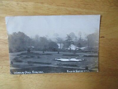 vintage postcard * Worsley Hall Grounds, Lancashire * Boden's Series posted 1906