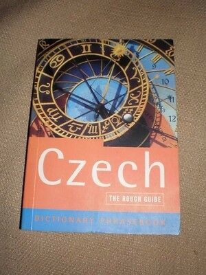 Czech The rough guide Dictionary Phrasebook in VGC