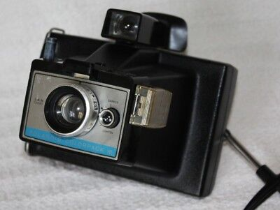 Vintage French Polaroid Instant Land Camera, Color Pack III 1970's
