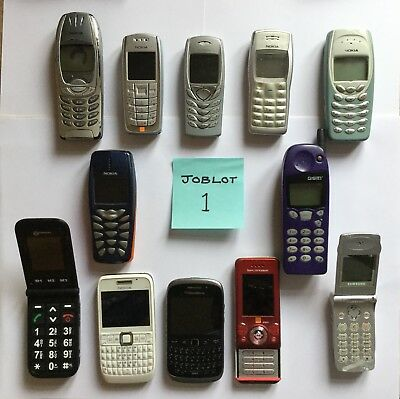 12 Mobile Phones JOBLOT 1