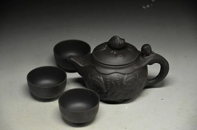 Delicate tea set for yixing  purple clay