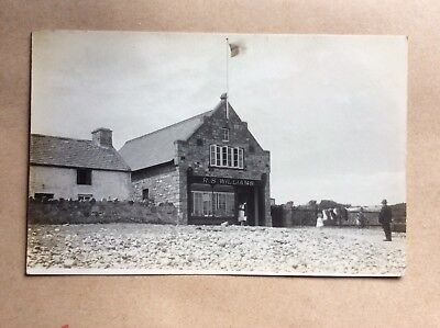 Rppc Port Eynon Old Lifeboat House Swansea Photographer Mumbles Area