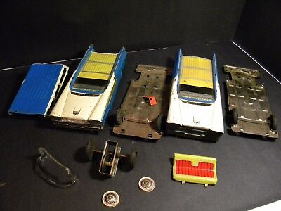 Parts For Vintage 1959 Ford By Yoshi Japan Tin Friction