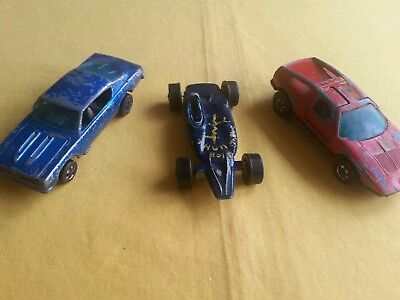 Hot wheels redline cars spares or repair.
