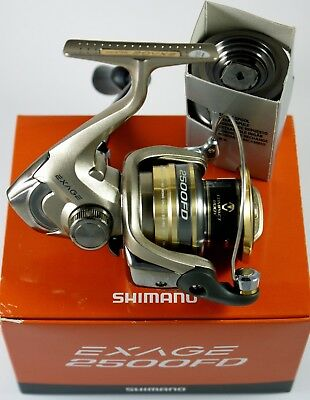 Shimano Exage 2500FD New Condition