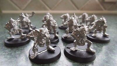 Blood Bowl 2nd Edition GW87 Goblin team 14 meatal figures with bases
