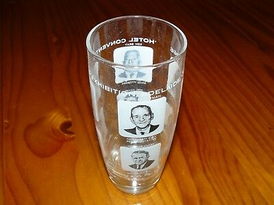 1966 Hotel Convention and Exhibition Commemorative Glass